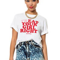 Dimepiece LA The Treat Your Girl Right Tee : Karmaloop.com - Global Concrete Culture