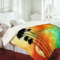 Madart Inc. Desert Mirage Duvet Cover