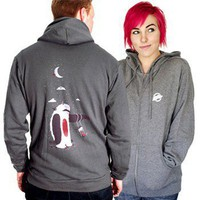 ShanaLogic.com - 100% Handmade  Independent Design! Imaginary Friend Hoodie