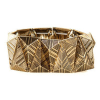 Gold Bracelet - Stretch Bracelet - $18.00