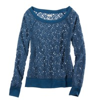 Aerie Lace Popover | American Eagle Outfitters