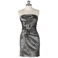 enchanting lady strapless dress in gray - $45.99 : ShopRuche.com, Vintage Inspired Clothing, Affordable Clothes, Eco friendly Fashion