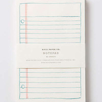 Anthropologie - Schoolyard Notepad