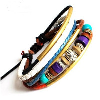 jewelry bangle  multicolor  punk rock by jewelrybraceletcuff