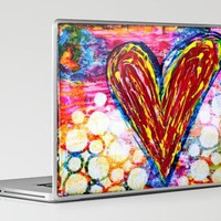 Bubbling with Love Laptop & iPad Skin by kathleentennant | Society6