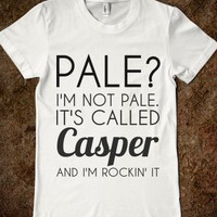 Pale/casper-Female White T-Shirt