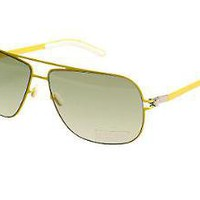 Mykita Rolf F2 Shade in yellow at oki-ni