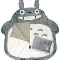 Totoro Sleeping Bag & Pillow