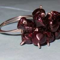Gemstone Cluster Rings