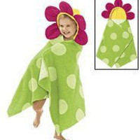 Avon Flower Bath Beach Towel Girls Hooded Adorable Toddlers