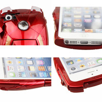 Iron Man Mark VII Collectible Toy Case For iPhone 4 4S 5 5G - Avengers LED Armor