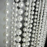 3 ft x 6 ft Ball Chain Beaded Curtain - Room Divider