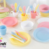 27 pc Cookware Playset - Pastel