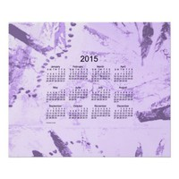 Old Purple Paint 2015 Wall Calendar Print from Zazzle.com