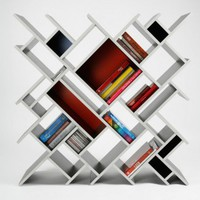 Contemporary Bookcase - Opulentitems.com