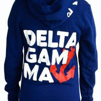 Adam Block Design   Delta Gamma Anchor Hoody