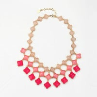 Cute Candy Color Triple Lays Necklace Z7