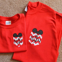 Disney Mickey Pocket Monogrammed TShirt