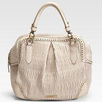 Burberry - Pliss? Leather Tote - Saks.com