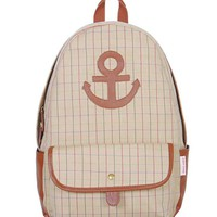 Preppy Look Anchor Backpack