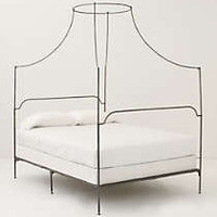 Anthropologie - Italian Campaign Canopy Bed