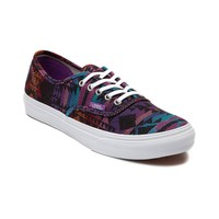 Vans Authentic Slim Skate Shoe, Black | Journeys Shoes