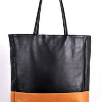 ELF - Classic tote bag in the two colors combination. hand made in Bali island.