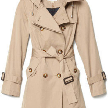 MICHAEL Michael Kors Trench Coat - Polyvore