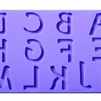 Wilton Fondant and Gum Paste Silicone Mold Set, Letters and Numbers:Amazon:Kitchen & Dining