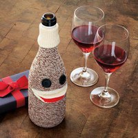 Sock Monkey Wine Sleeve         -              New Kitchen & Bar Tools        -              Kitchen & Bar Tools                    - Sur La Table