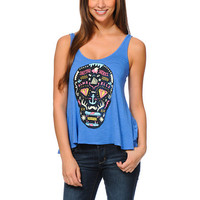 Glamour Kills Day Of The Living Blue Tank Top at Zumiez : PDP