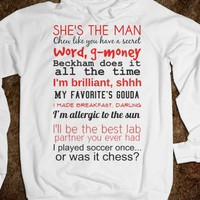 SHE'S THE MAN HOODIE