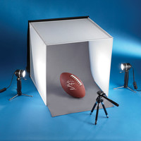 The 20 Inch Tabletop Photo Studio.  - Hammacher Schlemmer