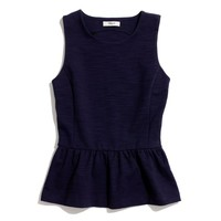 Peplum Tank - tanks - Women's TEES & MORE - Madewell
