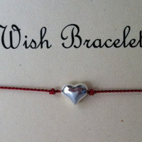 Sterling Silver Wish Bracelet Friendship by Jennasjewelrydesign
