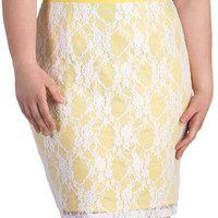 Canary Song Skirt in Plus Size | Mod Retro Vintage Skirts | ModCloth.com