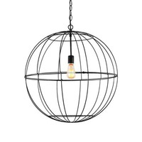 Young House Love Large Wire Globe Lantern - 7 Colors! - Shades of Light