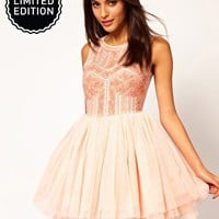 ASOS Prom Dress with Embellished Bodice at asos.com