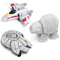 SD Star Wars Plush Vehicles - X-Wing