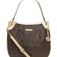 MICHAEL Michael Kors Signature Convertible Shoulder Bag | Dillards.com