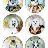 Reigning Cats and Dogs Magnet Set | Mod Retro Vintage Toys | ModCloth.com