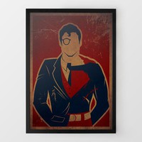 Clark Man Print by Danny Haas at Firebox.com