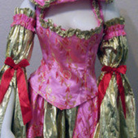 BE WICKED &quot;MARIE ANTOINETTE&quot; WOMEN&#x27;S COSTUME, SIZE M/L