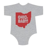 OHIO BABY Kids Shirt/Onesuit by LilBurritos on Etsy