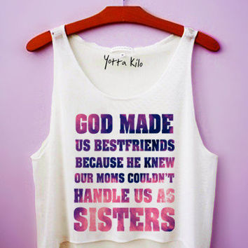 Best Friends Crop Tank Top