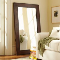 Benchwright Floor Mirror | Pottery Barn