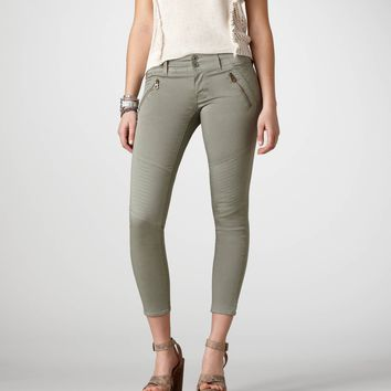 AE Cropped Moto Pant | American Eagle Outfitters