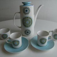 Retro Coffee Set