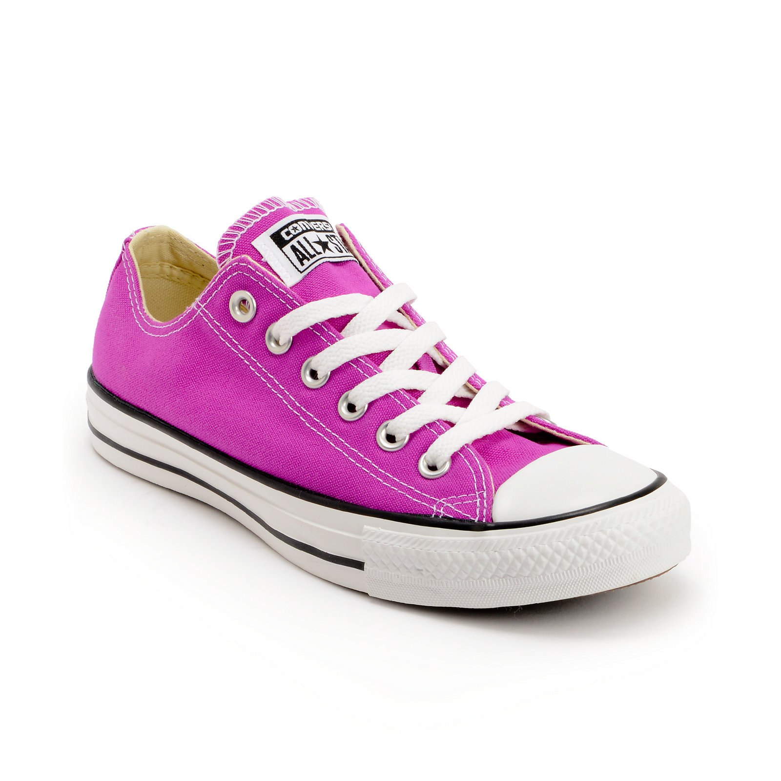 All purple converse
