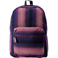 Baja Bags Purple Stripe Woven Backpack at Zumiez : PDP